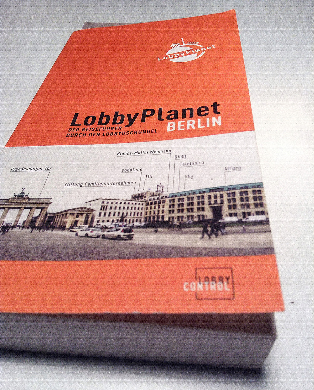 Lobby Planet Berlin Ταξιδιωτικός Οδηγός Βερολίνου