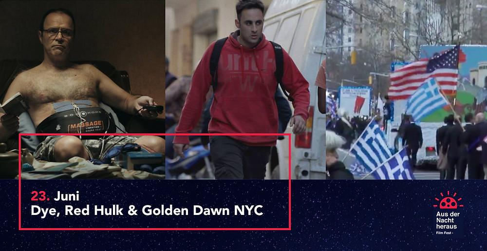 Dye, Red Hulk & Golden Dawn NYC | Aus der Nacht heraus ©Vasileios Synanidis