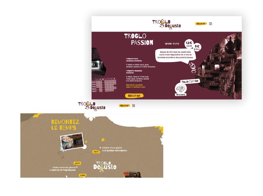 Site web TrogloDegusto