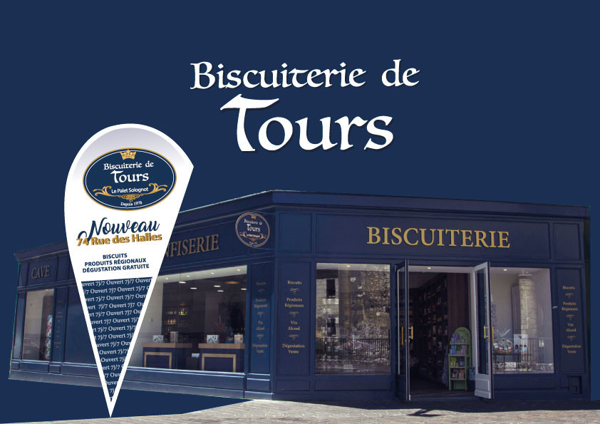 Evenement ouverture Biscuiterie de Tours