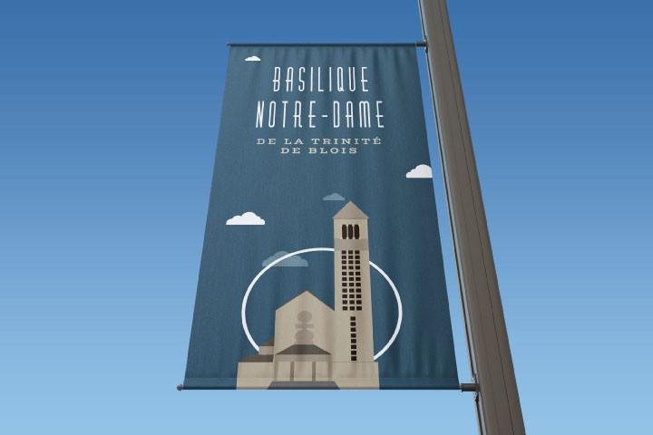 Signalisation Basilique Notre-Dame de la Trinite