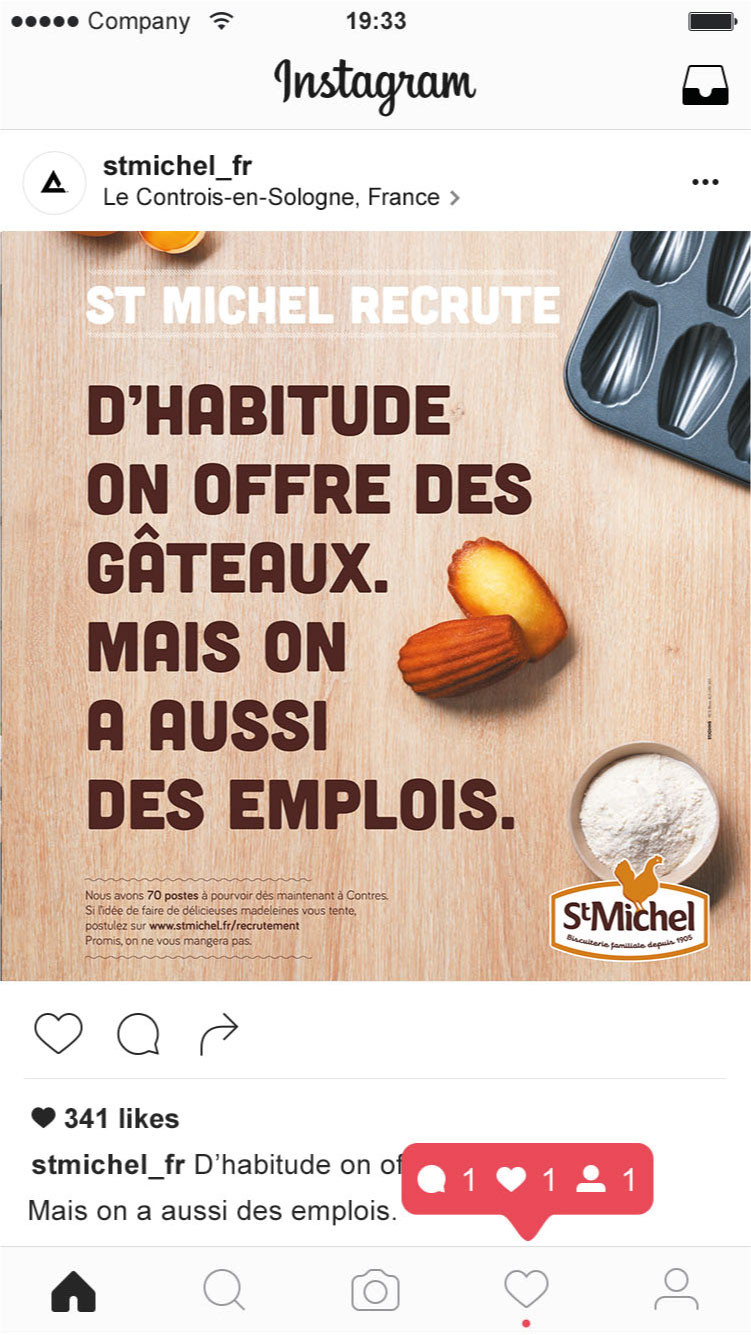 Campagnes de recrutement St-Michel Franc