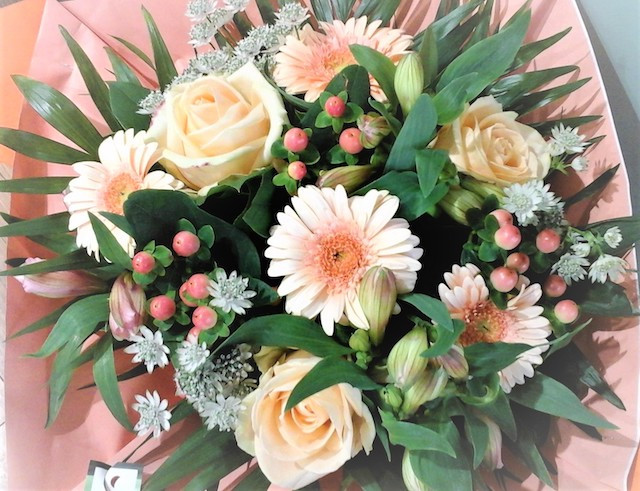 BOUQUET ROND SAUMON