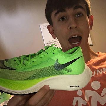 Green Nike Vaporfly