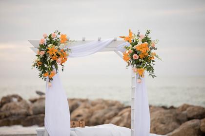 South Seas Captiva Beach Wedding