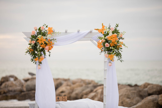 South Seas Captiva Beach Wedding