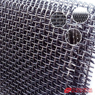 Vibrating Screen (Wire Mesh) Material: High carbon steel Wire diameter: 9.00 mm Width: 38.00 in Length: 49.00 in Others: with hooks