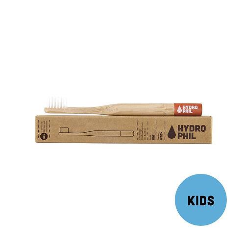 Brosse à dents ENFANT-SOUPLE | HYDROPHIL | Bambou & nylon végétal