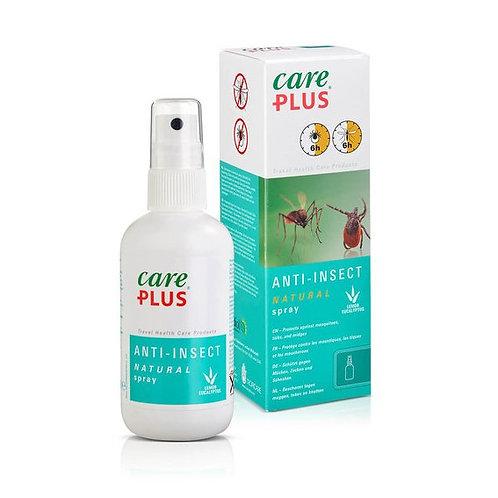 Anti-moustique naturel 100ml | CARE PLUS | Sans DEET - OK bébés et mamans