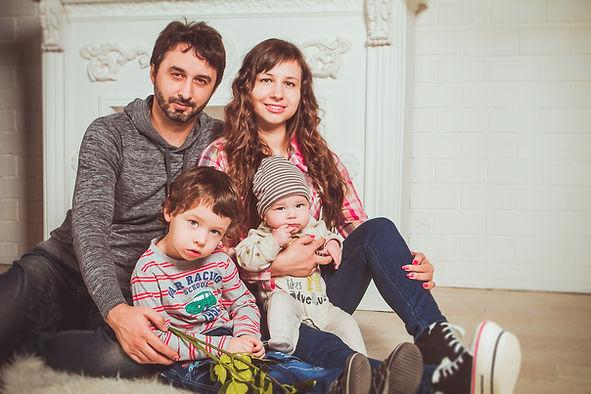 Famille parents enfants