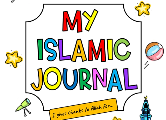 100 page Islamic positivity journal for children