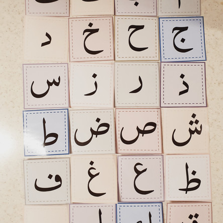 How to teach children Qaidah- Recognising letters