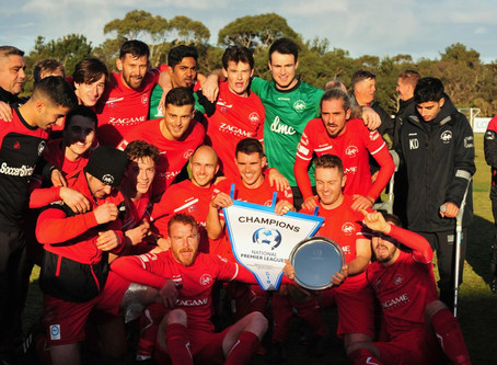 Eastern Lions Wins 2019 NPL2 East