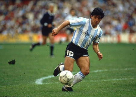 You can do the Macarena, but can you do the Maradona?