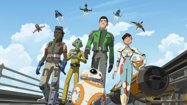 Star Wars: Resistance. 2019