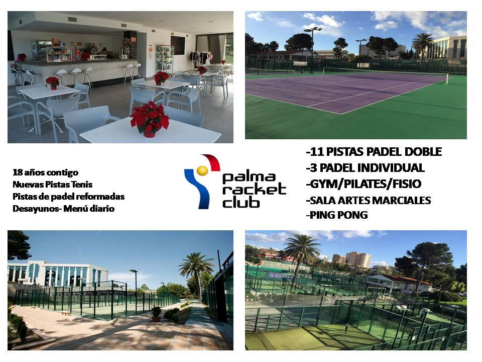 Palma Racket collage