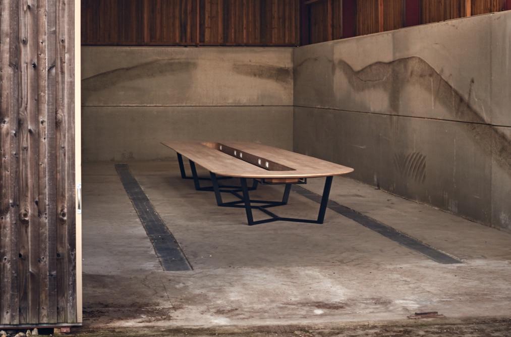Table réunion Perronet - Bois massif