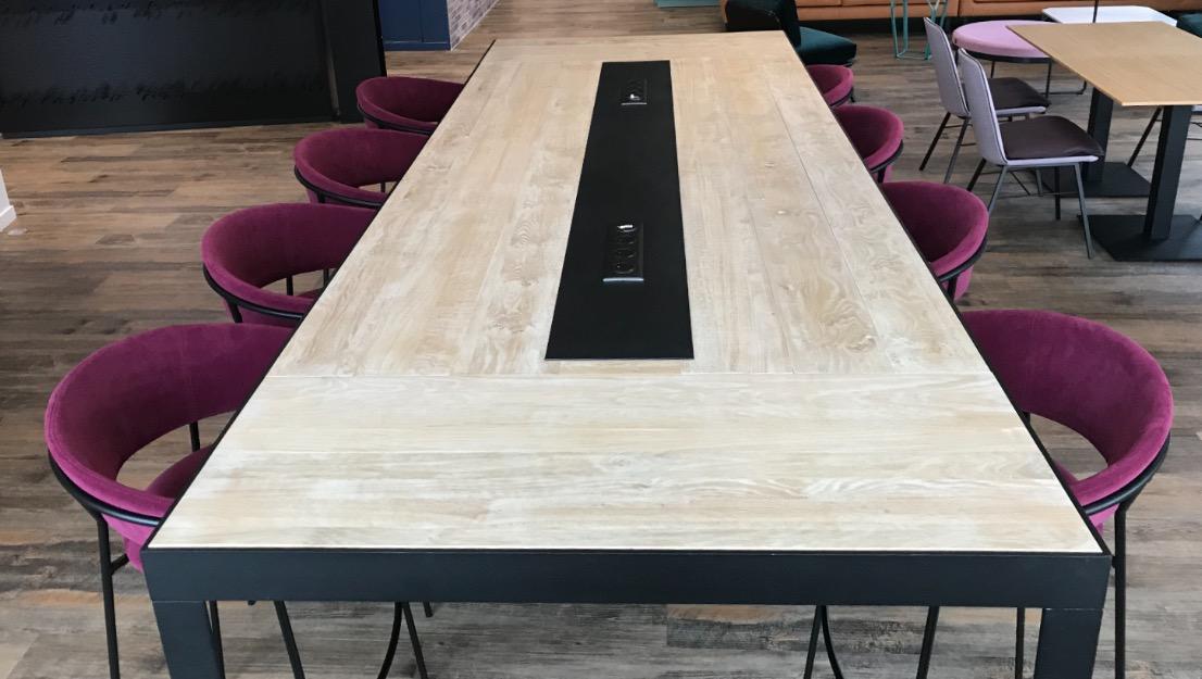 Table Réunion Knock