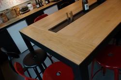 Table de Dégustation - Chêne Massif