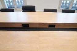 Table de Réunion Peronnet - Inox
