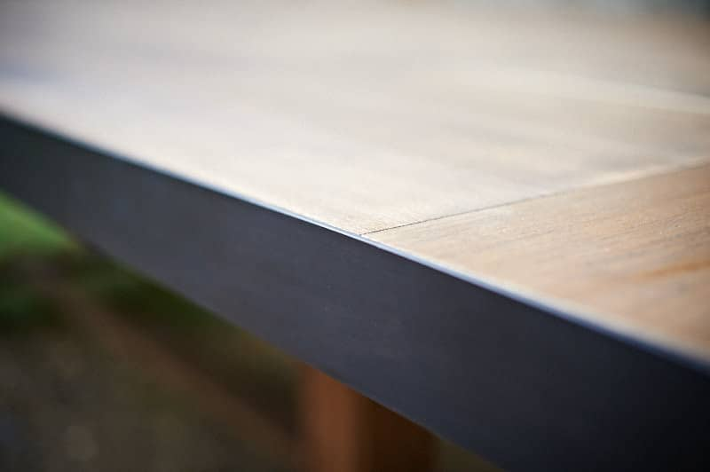 Table rectangulaire en  bois