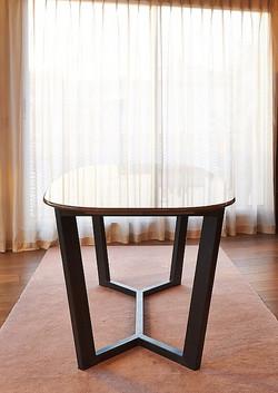 Table de repas en marbre