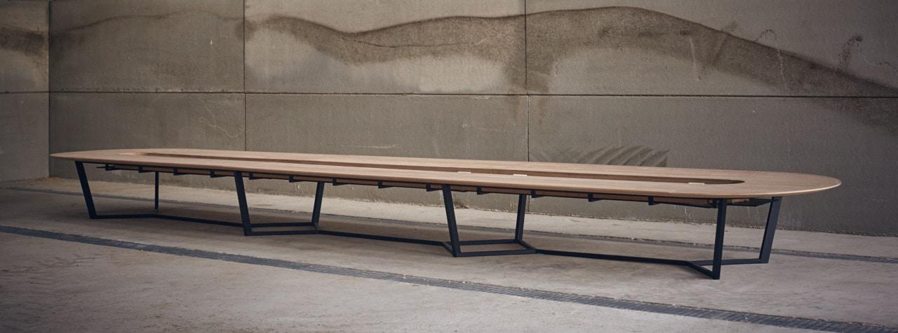 Table de Réunion Perronet - Acier