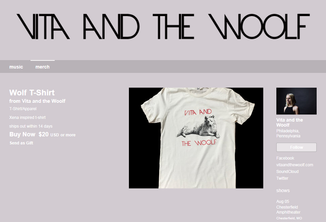 Vita and the Woolf T-Shirt