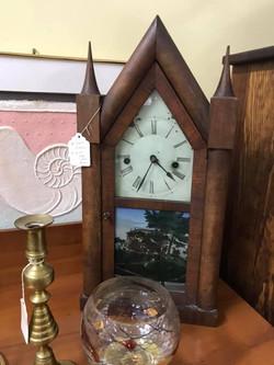 Reverse Painted Clock