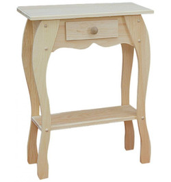 Box Table with Drawer $76