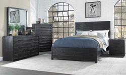 Villa Black Rustic Bedroom
