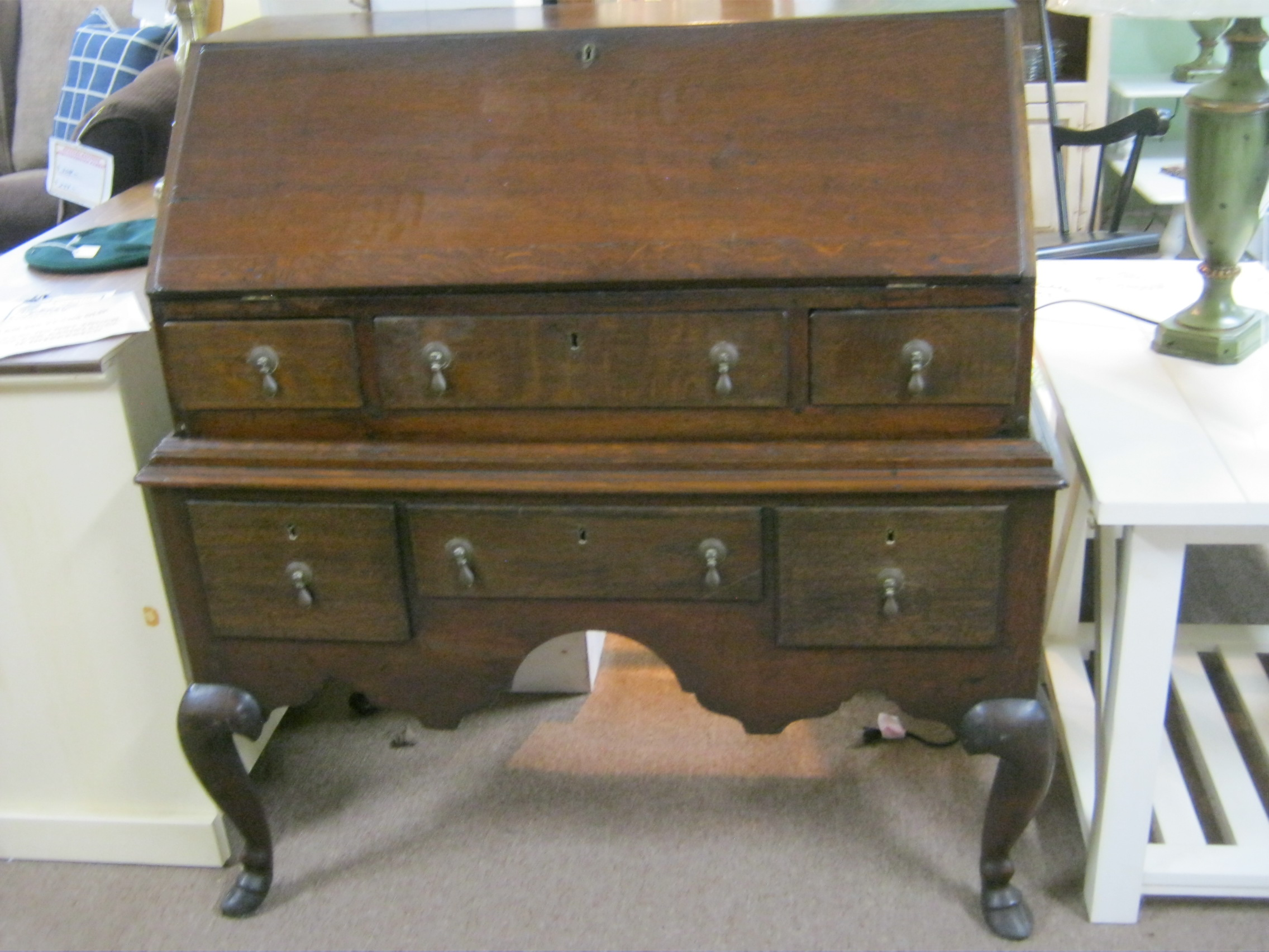 SOLD Early English Desk