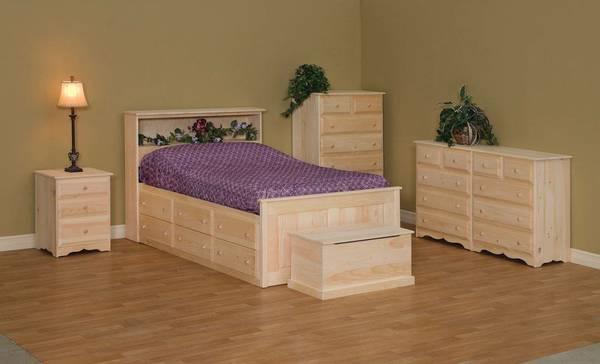 Amish Unfinished Furniture