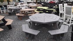 30 Octagon Tables on Hand