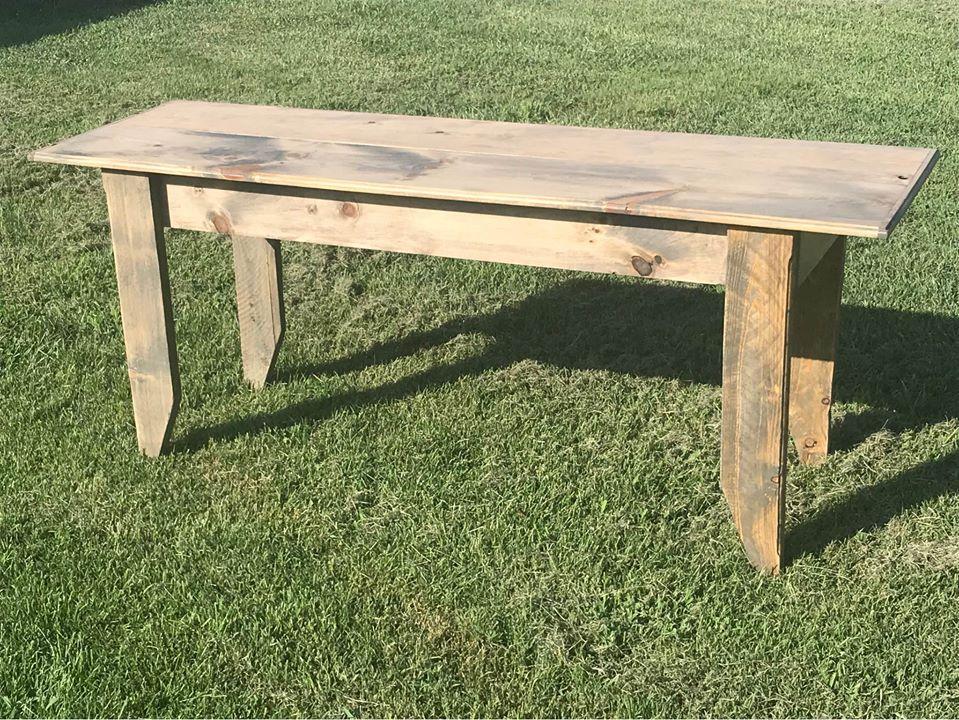 """24"""" x 60"""" Farm Table"""