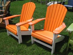 Orange/White