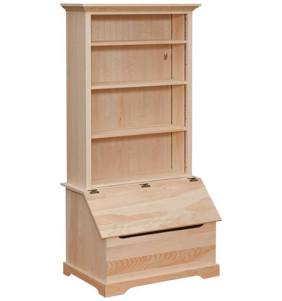 Bookcase with Toy Chest $301