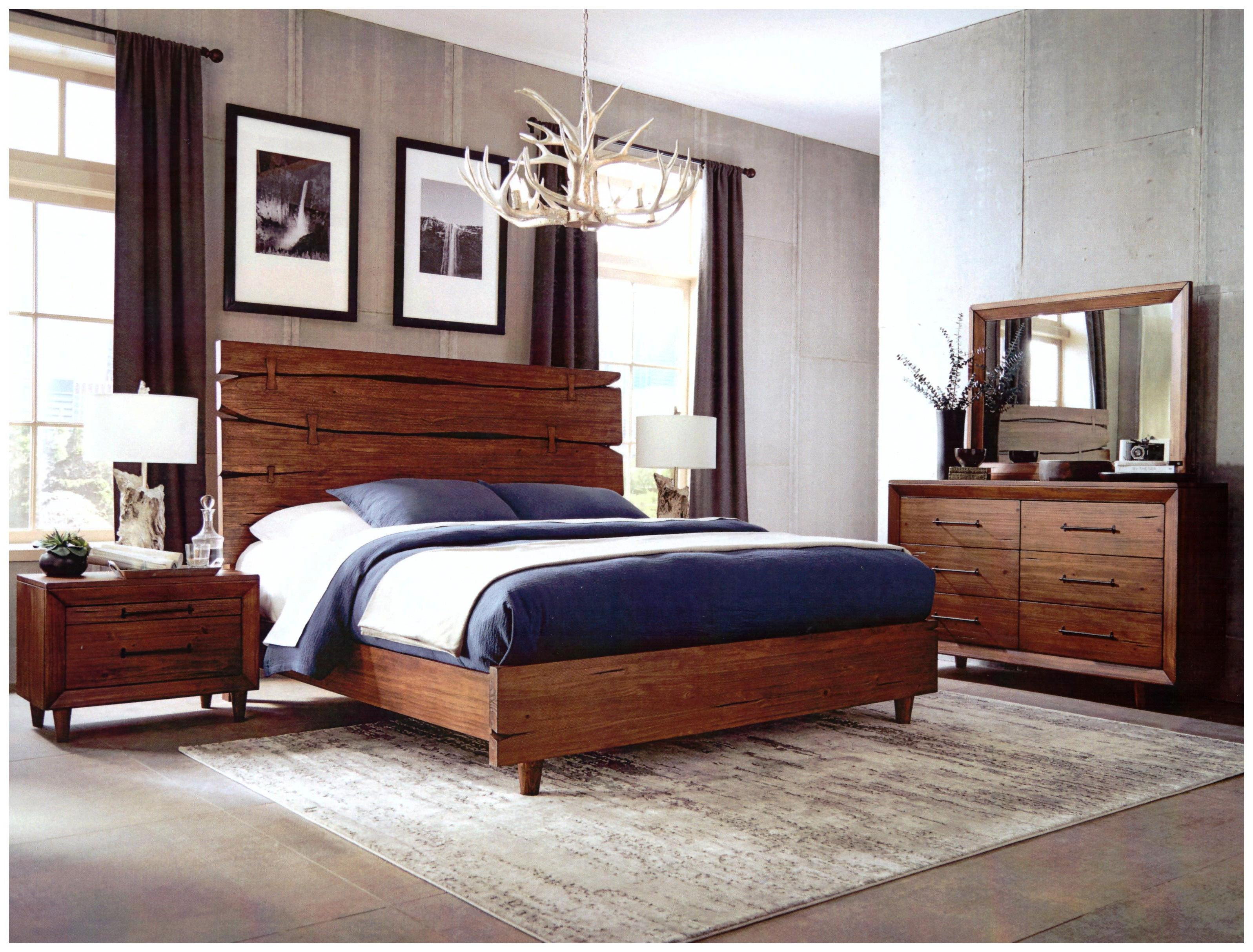 Rustic Live Edge Bedroom