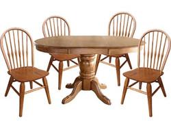 Oak Pedestal Tables