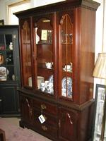 """Broyhill"" Cherry Cabinet"