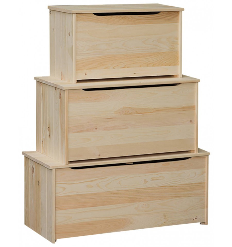 Pine Plank Chests from $62