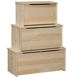 Pine Plank Chests from $88