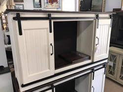 Amish Barndoor Cabinets