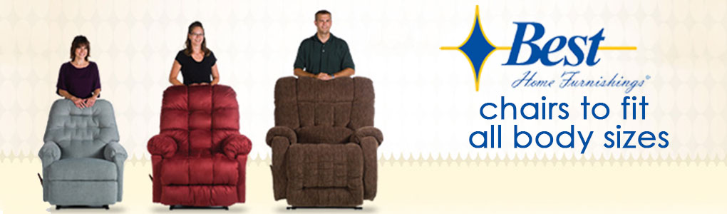 Recliners to Fit EVERYONE