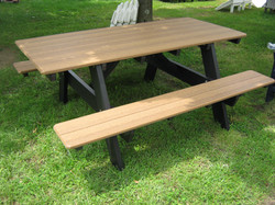 """Attached Bench Table 72"""""""