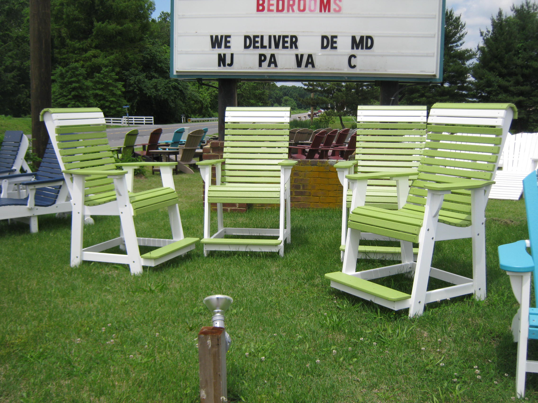 Oversized Rollback Pub Chairs