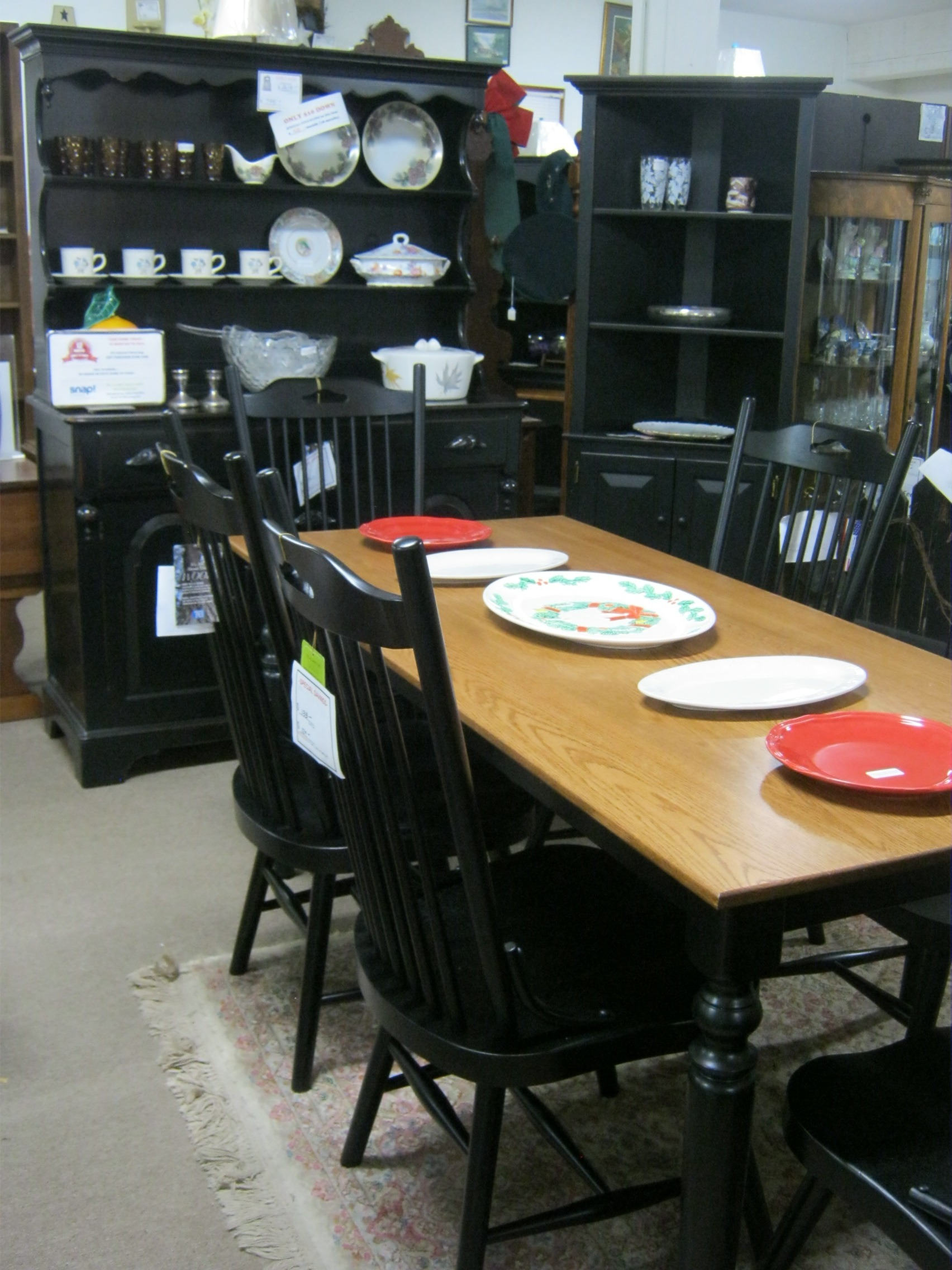 Amish Made farmhouse Table