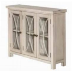 White Cabinet 3 Door