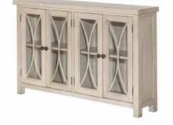 White Cabinet 4 Door