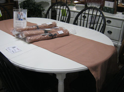 Solid Cherry White Dining Table
